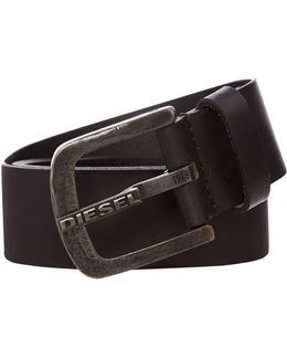 B-dart Leather Belt