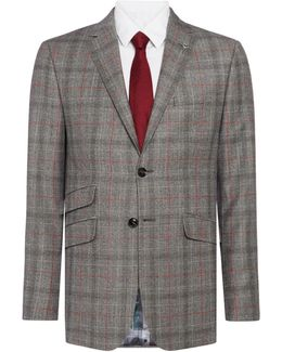 Hemple Prince Of Wales Check Suit Jacket