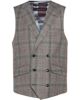 Hemple Prince Of Wales Check Waistcoat
