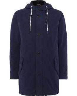 Coated Parka Jacket
