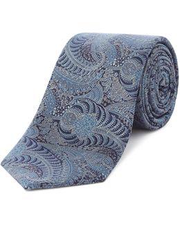 Jervis Fine Paisley Print Tie