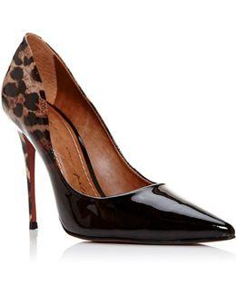 Cristina Heel Court Shoes