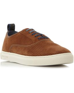 Odonel Perforated Suede Sneakers
