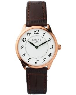 Narrative Womens Brown Leather Watch