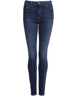 High Rise Skinny Santana Jeans