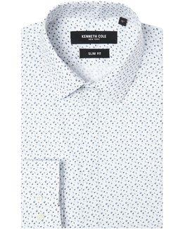 Itami Slim Fit Geometric Print Shirt