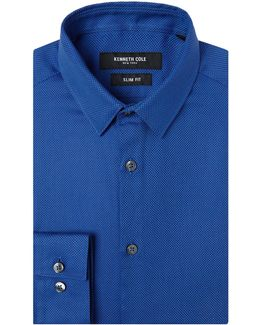 Bowery Slim Fit Textured Shirt