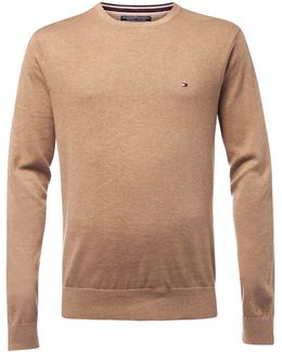 Plaited Cotton Silk Jumper