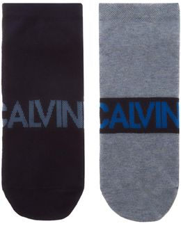 2-pack Large Logo Angle Sock