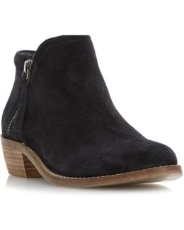 Pollyanna Block Heeled Ankle Boots