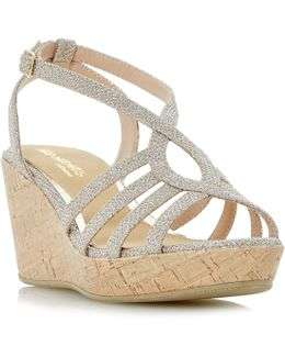 Kimmi Strappy Wedge Sandals