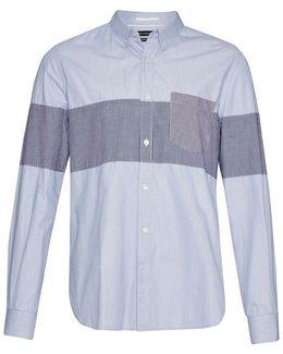 Chest Panel Stripe Shirt