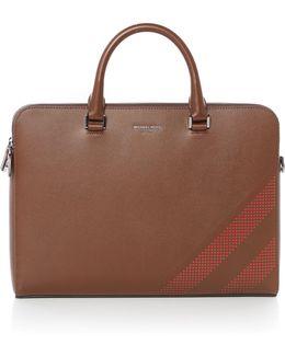Harrison Medium Double Zip Briefcase