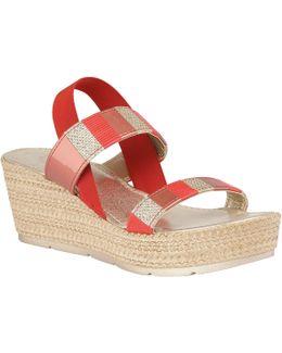 Langmead Elastic Platform Sandals