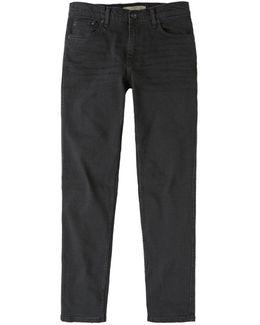 Slim-fit Black Tim Jeans
