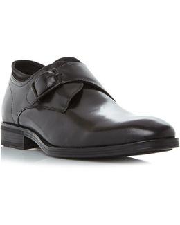 Shock Wave Single Buckle Monk Shoe