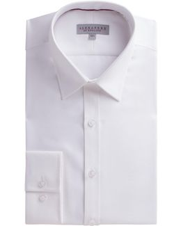 White Micro Shirt