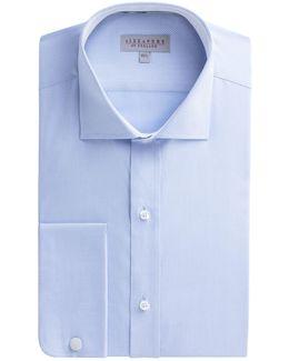 Blue Twill Stripe Shirt