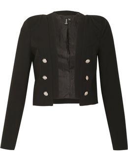 Feature Button Crop Jacket