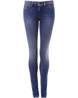 Mid Rise Skinny Nora Dynamic X Stretch Jeans