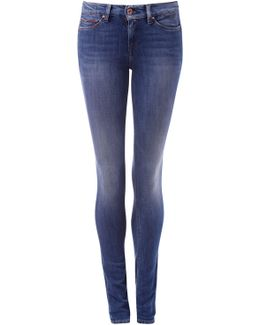 Mid Rise Skinny Nora Dynamic X Stretch Jeans