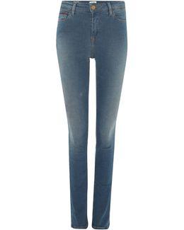 Hi Rise Skinny 7/8 Santana Jeans