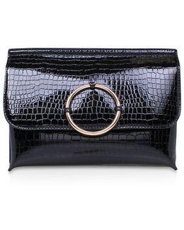 Hoop Clutch Bag
