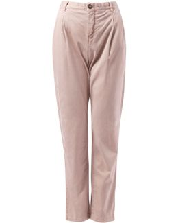 New Janet Pleated Chinos