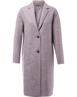 Beth Boiled Wool Coat