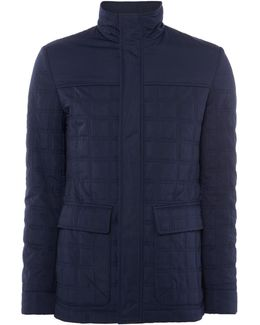 Men's Harlem Quilted Funnel Neck Jacket