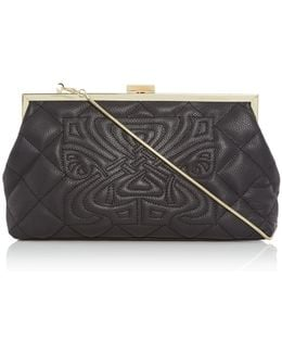 Fran Quilted Clutch Bag
