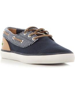 Jouer Deck Vulcanised Boat Shoes