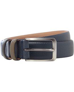 Shrubs Coloured Keeper Leather Belt