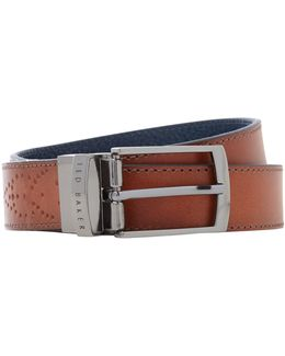 Boxwood Brogue Belt