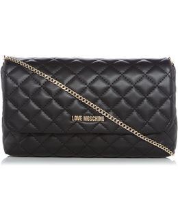 Superquilt Black Clutch