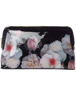Joeann Floral Large Cosmetic Bag