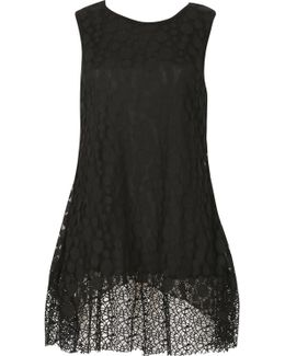 Netted Sleeveless Top