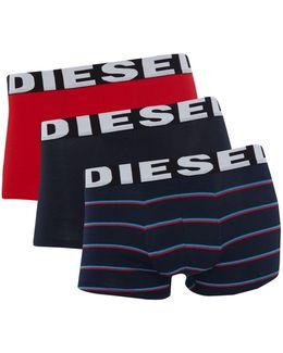 Men's 3pk Stripe Trunks