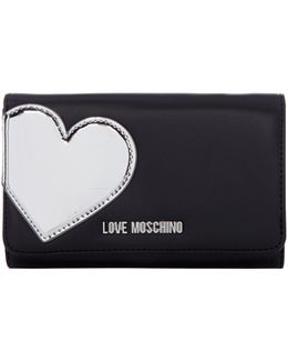 Heart Flap Over Purse
