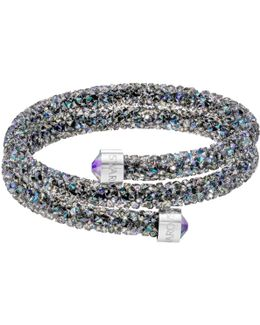 Crystaldust Double Bangle, Purple