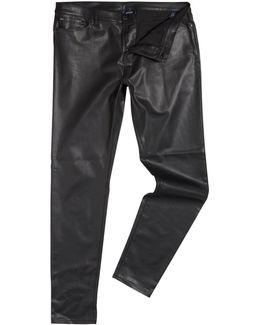 J20 Mid Rise Skinny Jeans In Nero