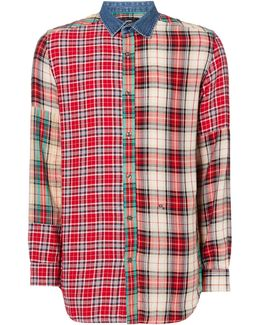 Red Check S-melvin Shirt