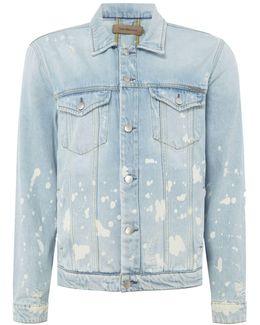 Vintage Splatter Denim Jacket