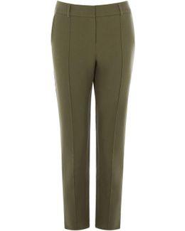 Compact Cotton Trouser
