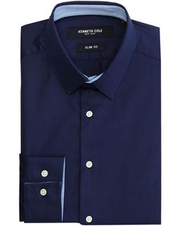 Daven Slim Fit Shirt With Contrast Detail