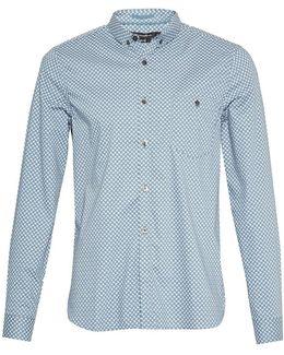 Stretch Paisley Slim Shirt
