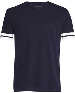 Ampthill Pique Sleeve Tipping T-shirt