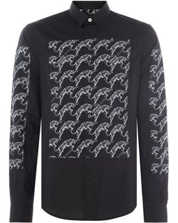 Tiger Pannel Long Sleeve Shirt