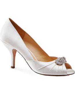 Carmella Peep Toe Shoes