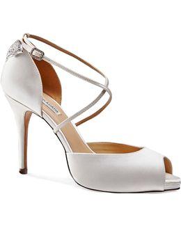 Chloe Peep Toe Platfrom Sandals